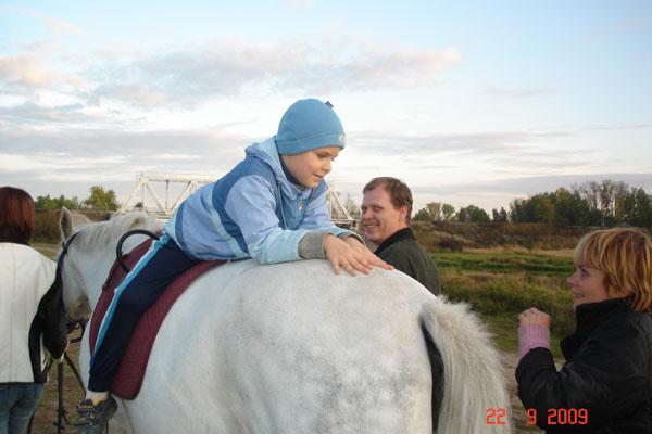Иппотерапия в Иванове и Ивановской области - Дневник иппотерапевта - После долгого отсутствия к нам вернулся Сережа