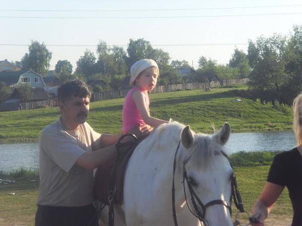Иппотерапия и лечебная верховая езда (ЛВЕ) - Лиза