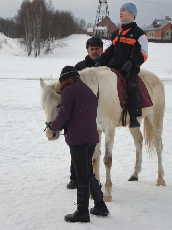 Иппотерапия и лечебная верховая езда (ЛВЕ) - Иппотерапия. Миша на Нике