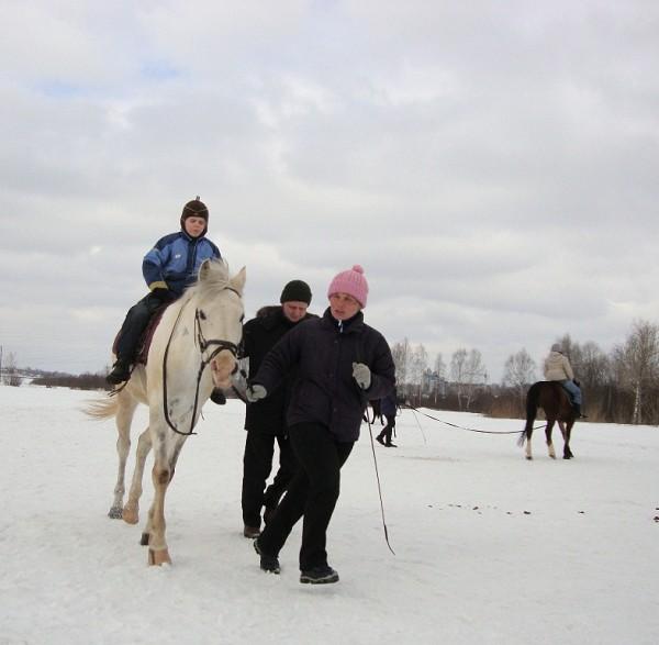 Иппотерапия и лечебная верховая езда (ЛВЕ) - Иппотерапия. Сережа на Нике