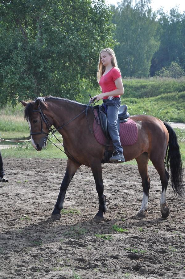 Иппотерапия и лечебная верховая езда (ЛВЕ) - Ольга и Хохма