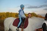 Иппотерапия и лечебная верховая езда (ЛВЕ) - Серёжа