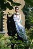 Свадьба на лошадях - Невеста на лошади