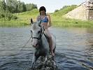 Лошади - Купание. Ника