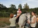 Иппотерапия и лечебная верховая езда (ЛВЕ) - Иппотерапия. Упражнения с мячом (лето 2010)