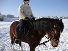 Верховая езда / Конный спорт - Верховая езда. Юля на Хохме