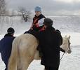 Иппотерапия и лечебная верховая езда (ЛВЕ) - Занятие с Мишей.