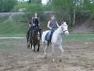 Верховая езда / Конный спорт - Езда сменой. Перемена направления