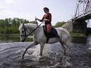 Верховая езда / Конный спорт - После тренировки можно и поиграть