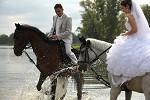 Свадьба на лошадях - Жених и невеста. Саша и Валя