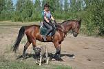 Верховая езда / Конный спорт - Ирина и Водопад. И Рэй)))