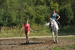 Верховая езда / Конный спорт - Мамы ребят тоже не отстают))) Настя на Нике