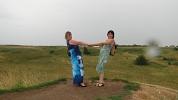 Синий камень/Плещеево озеро  - лето 2016 - Ирина и Татьяна