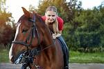 Иппотерапия и лечебная верховая езда (ЛВЕ) - Тренировка. Август 2017