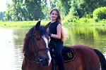 Верховая езда / Конный спорт - Алиса на Хохме. Лето 2019