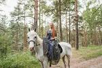 Фотосессия с лошадьми - Фотосессия в парке