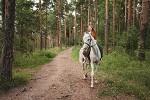 Фотосессия с лошадьми - Фотопрогулка в парке