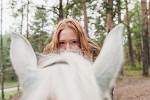 Фотосессия с лошадьми - Взгляд...