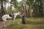 Фотосессия с лошадьми - Фотосет в парке