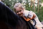 Фотосессия с лошадьми - Счастливая улыбка